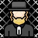 Jewish Man Icon