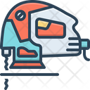 Jigsaw Machine Sewing Icon