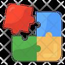Jigsaw Problem Solving Puzzle Piece Icon