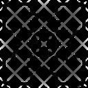Jigsaw Method Plan Icon