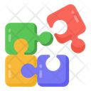 Jigsaw Puzzle Piece Teaser Icon