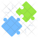 Jigsaw Puzzle Pieces Problem Solution Icon