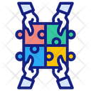 Jigsaw Processing Business Icon