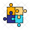 Jigsaw Puzzle Toy Icon