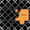Jigsaw Solution Brainstorm Icon