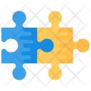 Jigsaw Puzzle Pieces Icon