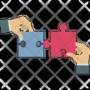 Jigsaw Playing Jigsaw Puzzle Icon