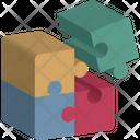 Game Integration Emotion Jigsaw Piece Icon