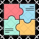 Puzzle Solution Graph Icon