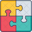 Jigsaw Puzzle Tiling Puzzle Mind Games Icon