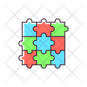 Puzzle Jigsaw Puzzle Board Game Icon