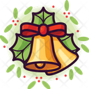 Bells Christmas Holiday Icon