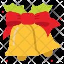 Christmas Bell Ribbon Icon