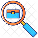 Job Search Business Icon