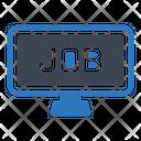Job Hiring Online Icon