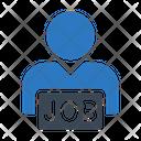 Hiring Recruitment Job Icon