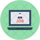 Job Seeking Online Icon