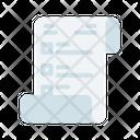 Job Desciption Paper Icon