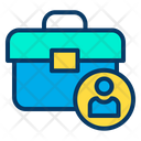 Job Employee Bag Office Bag Icon