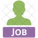 Job Candidate Employee Team Icon