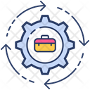 Job Change Employee Change Job Replacement Icon