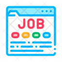 Job Finding Website Icon