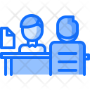 Interview Employee Table Icon