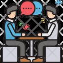 Job Interview Recruitment Meeting Icon