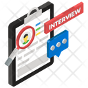 Headhunting Job Interview Recruiting Icon