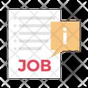 Job Interview Recruitment Icon