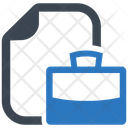 Job Letter Portfolio Job Icon