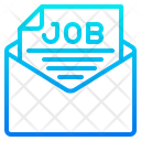 Job Letter Job Mail Job Email Icon