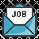 Job Letter Job Envelop Job Mail Icon