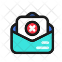 Rejected Application Letter Icon