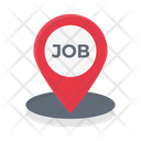 Job Location Map Icon