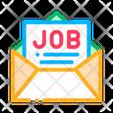 Job Message List Icon