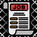 Job Offer Job Letter Job Icon