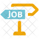 Job Opportunity Career Opportunity Choose Path Icon