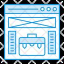 Webpage Browser Portfolio Icon