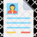 Job Profile Female Icon