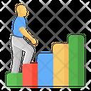 Career Ladder Career Path Success Ladder Icon