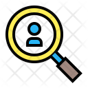 Job Find People Icon