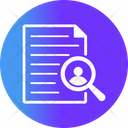 Career Find Job Search Icon