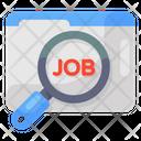 Job Search Job Finding Job Hunting Icon