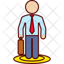 Selection Job Executive Icon