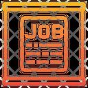 Signboard Paper Application Job Signboard Job Board Icon