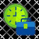 Job Time Work Time Job Hour Icon