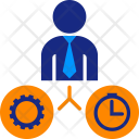 Job Versus TIme Icon