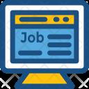 Job Webpage Website Icon