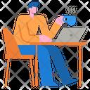 Job Working Working Working Time Icon